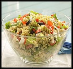 Party Pasta Salad #Recipe