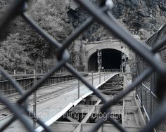 8X10 Harper's Ferry Tunnel by LBENNINGPHOTO on Etsy, $25.00