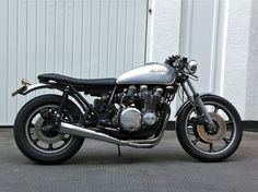 1978 Kawasaki K Z1000 Cafe Racer Brat Style Street Custom featured in BikeEXIF   eBay