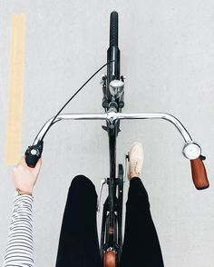Riding a bicycle ♡