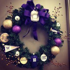 Husky Holiday Decorations!  WOOF!!