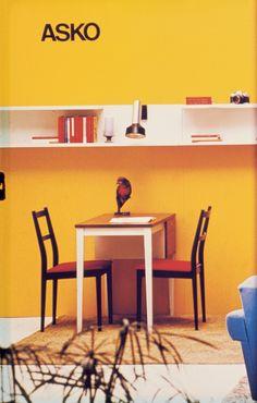 Askon pieni ruokapöytä - Askon vanha mainos Old Pictures, Finland, Vintage Designs, Corner Desk, Furniture Design, Kitchen, Table, Inspiration, Home Decor