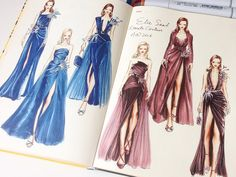 ilustração de moda n