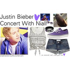 """""""Justin Bieber Concert with Niall"""