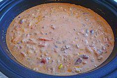 Käse-Hack-Suppe auf mexikanische Art