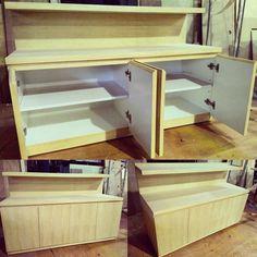 #wood #woodwork #woodworking #design #cabinet #cupboard #木工 #設計 #櫃子 de wooooodworker