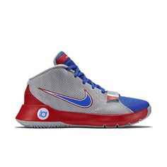 6beda0a71f06 Nike Men s KD Trey 5 III Basketball Shoes-Wolf Grey Game Royal University  Red-9.5