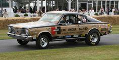 photos of hurst hemi under glass | barracuda-hurst-hemi under glass-wheelstander-1966