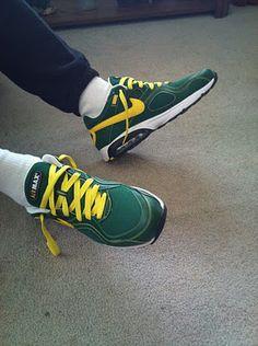 green bay packer shoes!