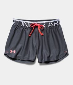 Under Armour Girls' UA Play Up Shorts from Under Armour. Under Armour Outfits, Nike Under Armour, Under Armour Girls, Under Armor Shorts, Sporty Outfits, Athletic Outfits, Athletic Wear, Cute Outfits, Athletic Shorts