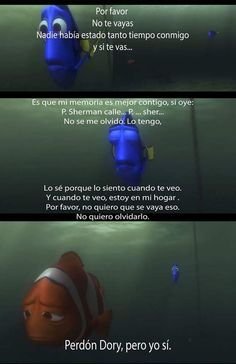 7 Mejores Imágenes De Frases De Dory Buscando A Nemo