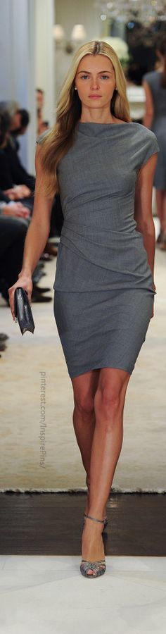 Love the cut of this dress