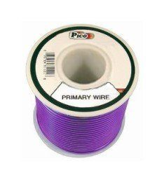 Pico 81169J 16 AWG Purple Primary Wire 35' per Package by Pico. $5.95. Single Conductor copper stranded primary wire with the highest quality polyvinyl chloride insulation providing the best in flexibility, permanent color and resistance to acids, grease, oil and diesel fumes. Primary wire is manufactured to meet all SAE Type J1128 specifications and will work safely between the operating temperatures of -40°F and 165°F.. Save 37%!