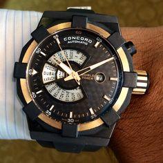 Concord World Timer Watch