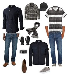 """""""If he would let me dress him"""" by cornishhardware on Polyvore featuring Levi's, Vince, Patagonia, Diesel, HUGO, Outdoor Research, Aéropostale, STONE ISLAND, mens and men"""