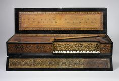 Virginal (muselar) by Jan Ruckers, Antwerp, 1622, at The Metropolitan Museum of Art. Read more http://www.metmuseum.org/toah/hd/flhv/hd_flhv.htm