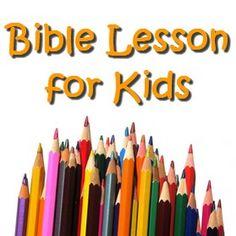 Love your enemies bible lesson