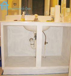 DIY Furniture : DIY Builder's Grade Vanity Revamp!