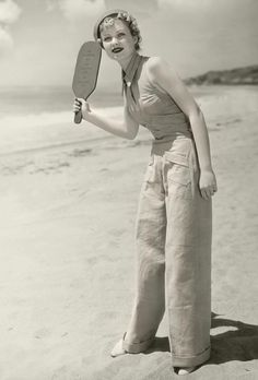 1935 beach pajamas