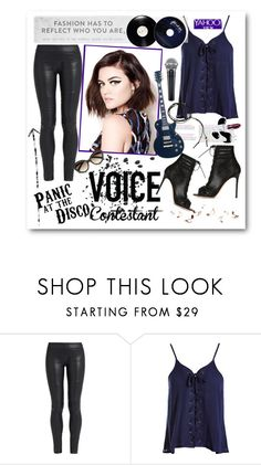 """""""TV Fashion: The Voice"""" by cindy88 ❤ liked on Polyvore featuring The Row, Sans Souci, Gianvito Rossi, Rodin, thevoice and YahooView"""