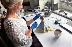 Zimna porcelana - moja pasja Cold Porcelain, Art Lessons, Decoupage, Diy And Crafts, Table, Inspiration, Home Decor, Education, Christmas