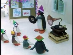 Pingu at the Nursery༺✿ƬⱤღ  http://www.pinterest.com/teretegui/✿༻