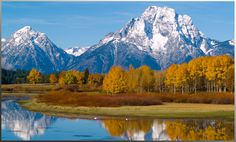 Jackson Hole, Wyoming.  Breathtaking!