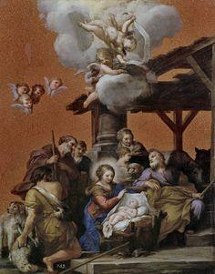 La Natividad. Pietro Da Cortona, 1656. Venturina