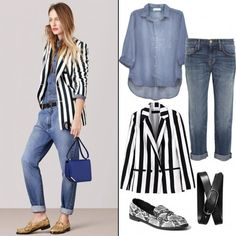 9 New Ways to Double Up on Denim For Spring from #InStyle