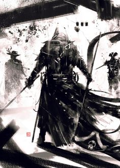 Simon Goinard Assassin's creed art