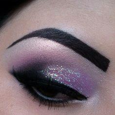 Purple/Black/Glitter