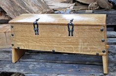 replica oseberg 178 chest  made by Oddleiv Steinkjer for the Nytt Oseberg Skip