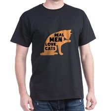 Real Men Love Cats (dark) T-Shirt