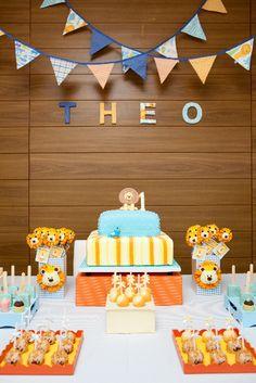 ...Criando o Meu Bebê...: Festa de Aniversário para Meninos