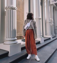 #streetstyle with our V-10 Nautico Pekin #veja #vejashoes #vejakicks #springkicks #whitekicks #kicksoftheday #sneakers #fairtraide #organiccotton #innovations #fairtrade #madeinbraazil #style #fashion