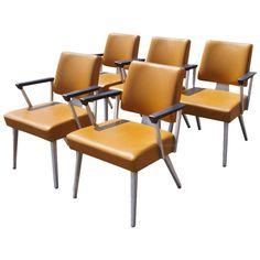 Vintage General Fireproofing Armchairs | 1stdibs.com