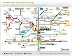 Infográfico: O Mapa mental do Marketing digital.