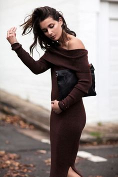 Trend To Try: Off The Shoulder Knitwear | Harper & Harley | Bloglovin'