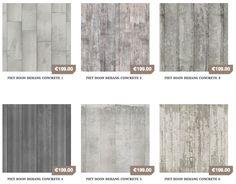Met het betonbehang van Piet Boon lijkt het net of je wanden gemaakt zijn van beton. Het betonlook behang is verkrijgbaar in de vorm van gepolier beton, ruwe platen en zoveel meer...