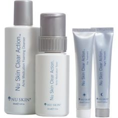 Nu Skin Clear Action Acne Medication System >>> Check this awesome product by going to the link at the image. #SkinCareforAcne