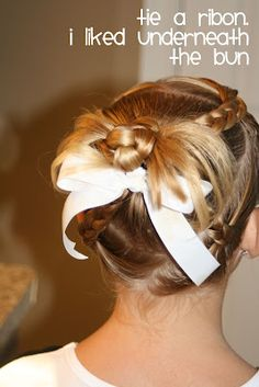 So cute and actually easy for when Taylors hair gets longer!!