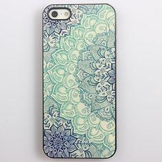 Blue Lotus Patroon Aluminium Hard Case voor iPhone 4/4S    – EUR € 3.02