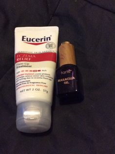 Omg best items for eczema on the face eurcerin in the morning maracuja oil at night