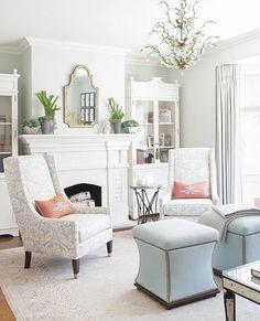 White living space. #home #nashville #NealClaytonRealtors