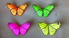 Origami Butterfly: Room decor 🦋 Origami for Beginners: Wall Decorating I...
