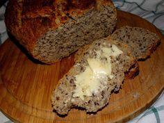 """Co w kredensie piszczy"": Domowy chleb z garnka Banana Bread, Breakfast, Blog, Lovers, Morning Coffee, Blogging"