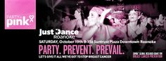 Party in Pink to save lives and fund research!  Find out more @ PartyinPinkRoanoke.com #partypreventprevail