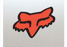 2 x Fox Head Racing Logo Stickers, Helmet Upgrade, Bikes Motorcross etc Orange Fox Original Design, High Quality Laminated Motocross Logo, Fox Racing Logo, Fox Head, Bat Signal, Superhero Logos, Backgrounds, Stickers, Unique Jewelry, Handmade Gifts