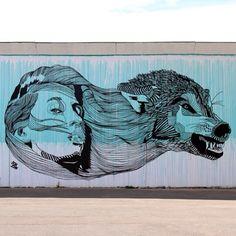 Work by @_don_john_  Copenhagen, Denmark street art graffiti