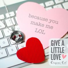We hear about love stories starting online more and more these days! Find these charms and more at www.amymichels.OrigamiOwl.com